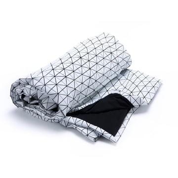 Mika Barr - Folding A-Part Throw, black / white