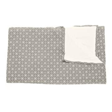 Mika Barr - Folding A-Part Throw, grey