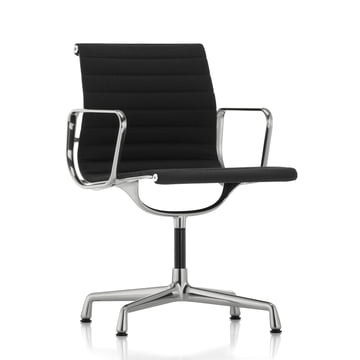 Vitra - EA 104 Office Chair polished, Hopsak, nero