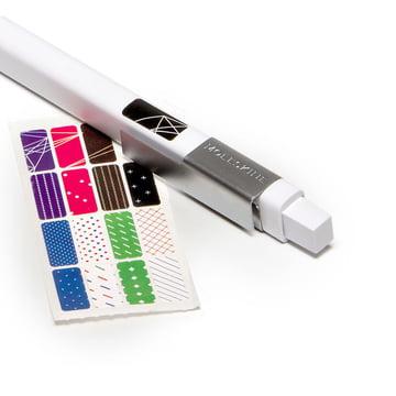 Moleskine - Classic pressure pencil, white - sticker
