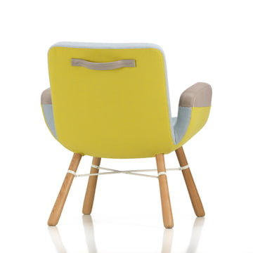 Vitra - East River Chair, yellow