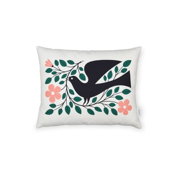Vitra - Graphic Print Pillows Dove, 30 x 40