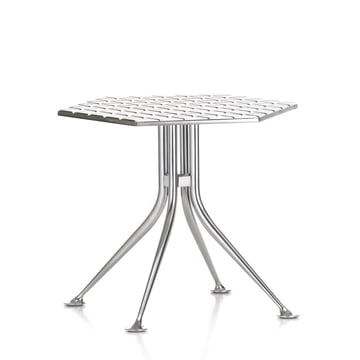 Vitra - Hexagonal Table, Aluminum polished