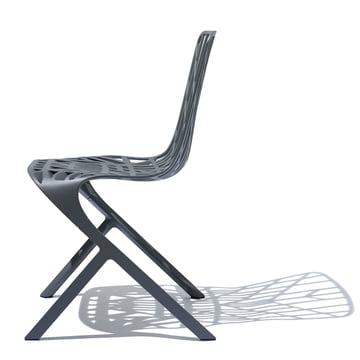 Knoll - Washington Skeleton Chair, Aluminium black