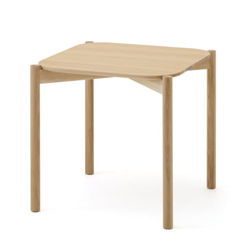 The Karimoku New Standard - Castor Table in natural colour