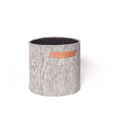 Design House Stockholm - Björk Homebag, Ø 35 cm, light grey