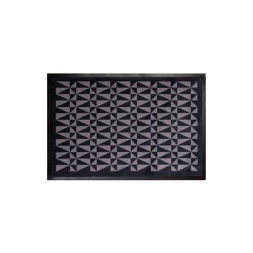 tica copenhagen - food mat 80 x 120 cm, black / grey