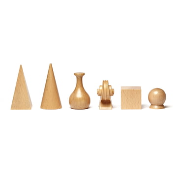Set of chess pieces by Man Ray