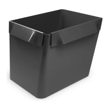 Big Bin container by Stefan Diez, dark grey