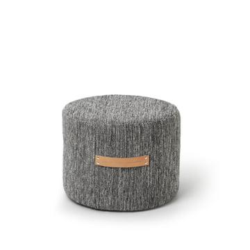 Design House Stockholm - Björk Stool H 35 Ø 45, dark grey