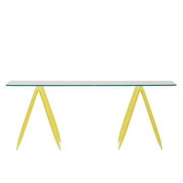 Zieta - Koza table trestles (set of 2), yellow