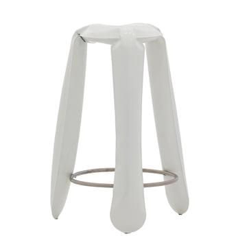 Zieta - Plopp bar stool, white