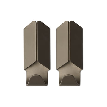 Hay - Volet Hook Set of 2, brown