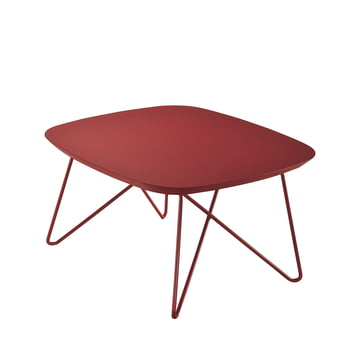Zanotta - Ink side table, 60 x 60 cm, red