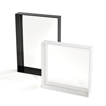 Kartell - Only Me Mirror, black 70 x 50 cm, white 50 x 50 cm