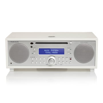Tivoli Audio - Music System+, white / silver painted