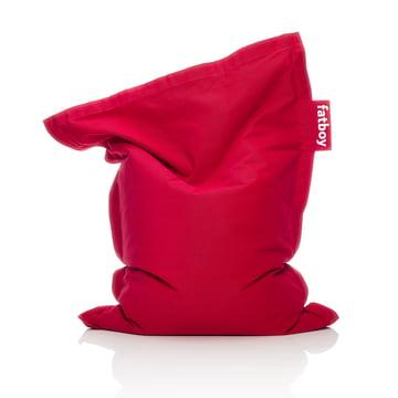 Fatboy - Junior stonewashed beanbag, red