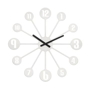 Koziol - Pinball Wall Clock, white