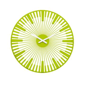 Koziol - Piano Wall Clock, green