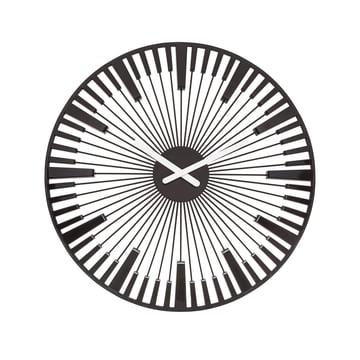 Koziol - Piano Wall Clock, black