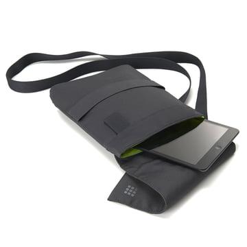Moleskine - sling bag, small, opened, lying