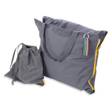 Hhooboz - Pillowbag, 150 x 62 cm, grey