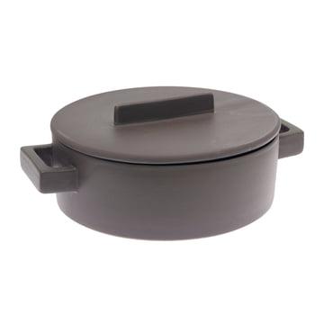 Sambonet - Terra-Cotto casserole flat Ø 25 cm, nutmeg