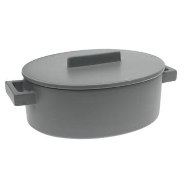 Sambonet - Terra.Cotto Oval Saucepot 16 cm, pepper