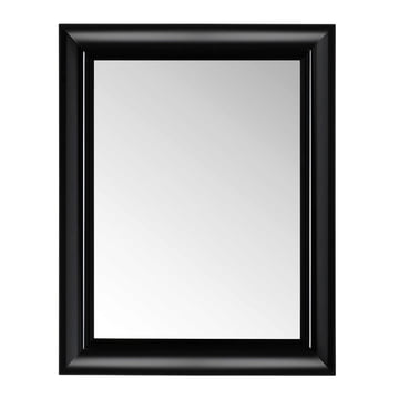 Kartell - François Ghost Mirror, large, black - front