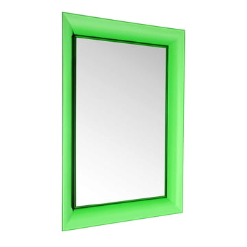 Kartell - François Ghost Mirror, large, green - inclined