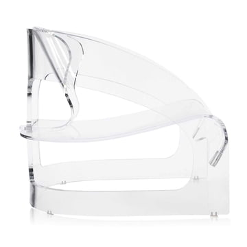 Kartell - Joe Colombo Armchair, transparent - lateral