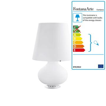 FontanaArte - Fontana Table Lamp, white, Ø 20 x 34 cm