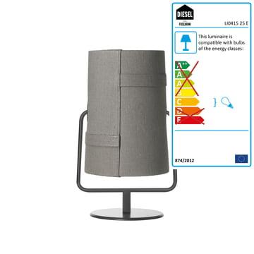 Diesel Living - Fork Mini Table Lamp, brown / grey