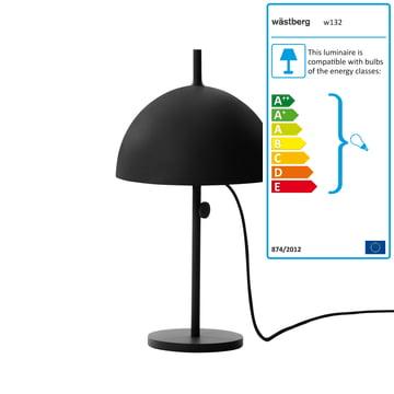 Wästberg - Nendo Table Lamp Sphere w132t3, black