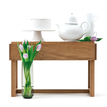 Design im Dorf - Bench and more, oak - tea service