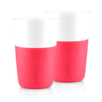 Eva Solo - Caffé latte cup (set of 2), pink