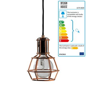Design House Stockholm - Work Lamp, copper