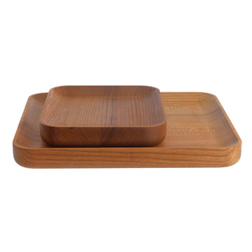 Schönbuch - Dice Tray 2 sizes, elm wood