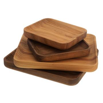Schönbuch - Dice Tray, elm wood, walnut