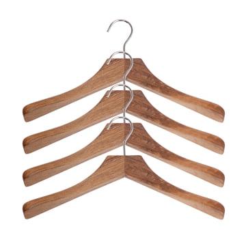 Schönbuch - Clothes hanger 0112, Set of 4, natural oak
