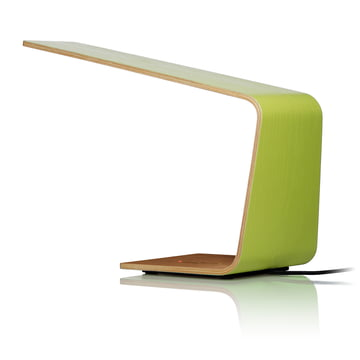 Led 1 table lamp by Tunto in green