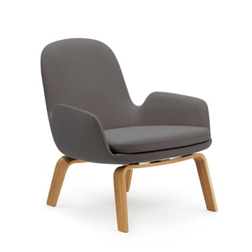 Normann Copenhagen - Era Lounge Chair Low, Oak Breeze Fusion