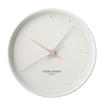 Georg Jensen - Henning Koppel Clock Graphic Ø 22 cm, white