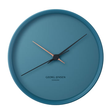 Georg Jensen - Henning Koppel Clock Graphic Ø 22 cm, blue