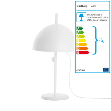 Wästberg - Nendo Table Lamp Sphere w132t3, white