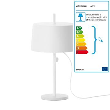 Wästberg - Nendo Table Lamp Cylinder w132t2, white