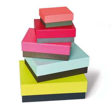 Remember - Due Colori Set of Boxes, stacked