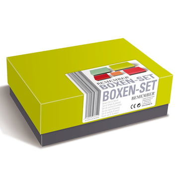 Remember - Due Colori Set of Boxes, bundled