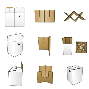 Remember - The Ingenious Cardboard Stool, assembly instructions