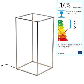 Flos - Ipnos Indoor bulkhead luminaire, silver